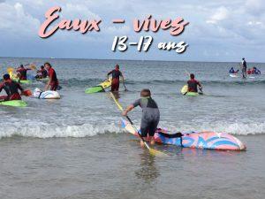 Stage eaux-vives : 14 – 17 ans