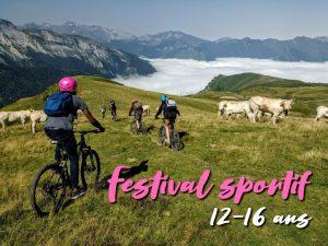 Festival sportif : 12 – 16 ans